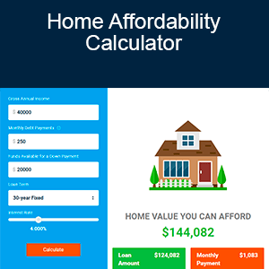 Calculator - Home Affordability Calculator