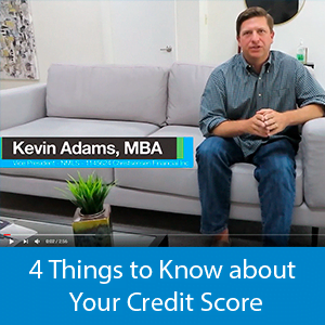 Video - 4 things to know about your credit score