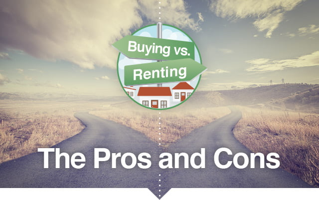 Buying vs. Renting - The Pros and Cons