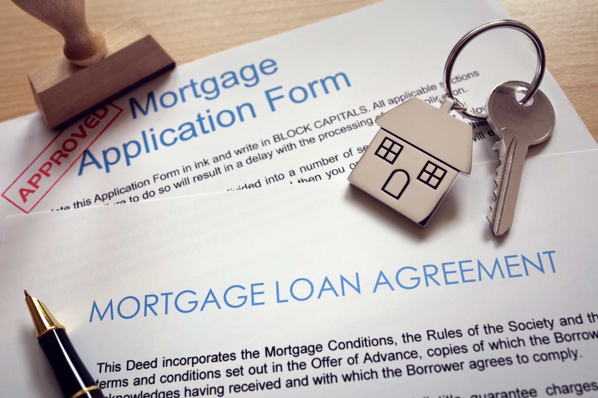 Mortgage Application Approved!