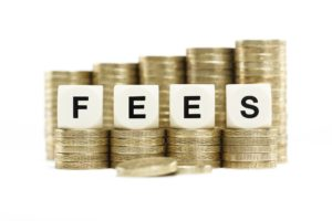 Fees with gold coins