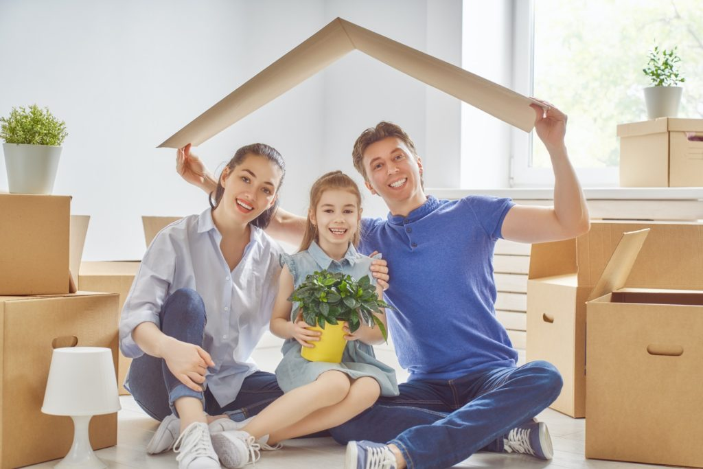 Concept of housing for family